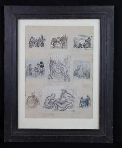 Camille BELLANGER (1853-1923) Scenes of The Life Of Christ Drawings Saint-Cyr