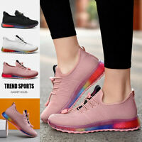 Women's Sneakers Lightweight Athletic Tennis Walking Running Shoes Knit Casual