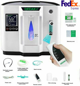1-7L/min Home Oxygen-Concentrator Generator 30%-90% Breathe Health Machine