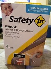 Safety 1st Baby Cabinet & Drawer Latches Locks 4 Pack