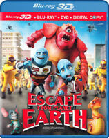 Escape From Planet Earth (Blu-ray 3D + Blu-ray New Blu
