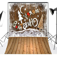 5x7ft Christmas Tree Photo Backdrop Child Birthday Party Studio prop Background