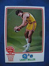 1973-74 Topps Larry Miller Q's card #252 $1 S&H basketball great filler card