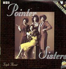 Pointer Sisters-Triple Threat/doppio LP