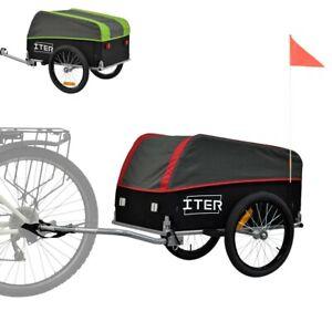 ITER remolque para bicicleta carga carrito compra trasporte por cicloturismo y