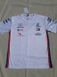 tee shirt MERCEDES AMG F1 PETRONAS FORMULE 1 Lewis Hamilton et valteri Bottas