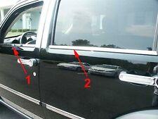 Chrome Window Sill trim Set Couvre Pour Dodge Nitro 2006-2012 S. Acier 8 pièces