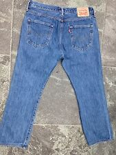 LEVI'S 501 BLUE JEANS W 34 L 28 VERY GOOD CONDITION!!!!!!!!!!!!!!