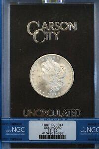 1881-CC GSA Morgan Silver Dollar NGC MS62 ~ Carson City Silver $1