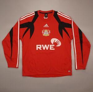 Vintage Bayer Leverkusen RWE 2004 Training Football Soccer Sweatshirt Ballack