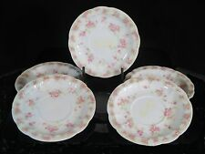 "Set of 5 Demi Sized Saucers - Rosenthal - Circa 1898-1906 - Decorated ""Carmen"""