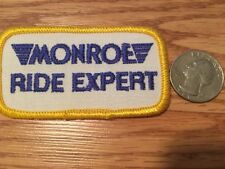 Vintage Monroe Ride Expert Patch Brand New!