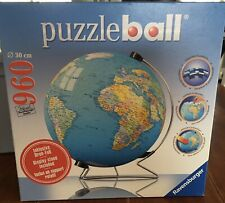 Puzzleball Globe Ravensburger With Display Stand 960 Pieces