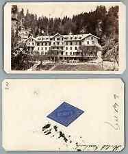 Gabler, Giessbach vintage carte de visite, CDV, provenance album personnel de Lo