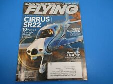 Flying Magazine April 2011 Garmin Touch Screens We Fly First Cirrus SR22 M3931