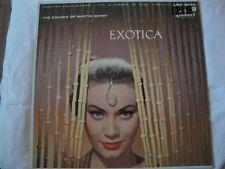 THE SOUNDS OF MARTIN DENNY EXOTICA VINYL LP ALBUM LIBERTY RECORDS QUIET VILLAGE