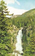 Co, Colorado Fish Creek Falls~Routt National Forest Chrome Postcard