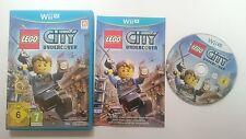 LEGO CITY UNDERCOVER PRIMERA EDICION PAL WII U WIIU CASTELLANO ESPAÑA COMO NUEVO