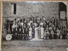 Photo ancienne de Dinard Moncontour mariage de Aristide Renault et Marie Guinard