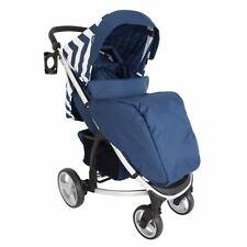 My Babiie MB200 From Birth Baby Pushchair / Pram - Blue Chevron