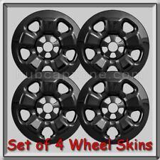 """17"""" Jeep Cherokee Wheel Skins Black Hubcaps 2015-2016 Cherokee Wheel Covers"""