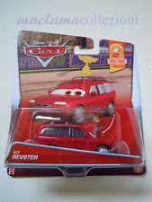CARS Raro Disney pixar cars 2015 KIT REVSTER race fans 1/9 mattel 1/55 maclama