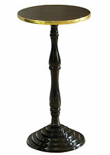 New Round Wooden Side Table, Living Room Accent Pedestal End Table