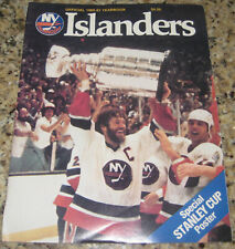 New York Islanders 1980-81 Yearbook, Stanley Cup Champs!!