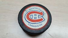 Vintage montreal canadian  Hockey Puck viceroy 70's 80's