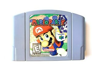 ***AUTHENTIC! Mario Party 1 ORIGINAL NINTENDO 64 N64 Game Tested WORKING!***