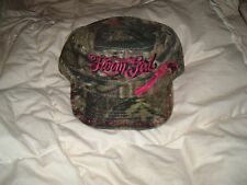 NEW Farm Girl Brand Mossy Oak Camo Engineer Cap - With Rhinestones - Adjustable