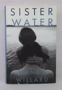 1st edition Sister Water by Nancy Willard used hardcover dust jacket novel