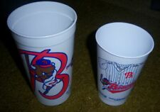 Rare Vintage 1994 Authentic Buffalo Bisons Plastic Cup Lot jersey throwback
