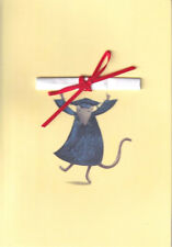PAPYRUS GRADUATION CARD NIP MSRP $5.95 MOUSE CARD (J2)