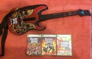 Xbox 360 Guitar Hero Bundle & Metallica Guitar