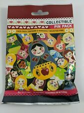 Disney Pin Trading Nesting Dolls Princesses Collectible Pin Pack