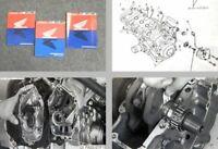 Honda CBR900RR SC33 Fire Blade Werkstatthandbuch 1995 - 1998 Reparaturanleitung