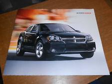 NOS 2008 Dodge Avenger RT SXT SE Dealer Only Sales Brochure