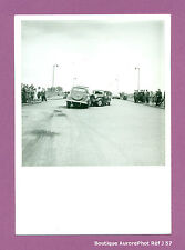 PHOTO DE POLICE CONSTAT D'ACCIDENT CRASH, VOITURES, TRACTION CITROËN 1955 -J57