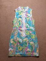 Lilly Pulitzer Alexa High Collar Shift Dress, Size 4, Preowned