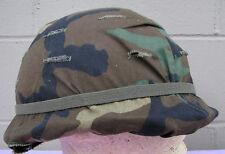 US Army Steel pot helmet                    (LOC = GR BK CS)