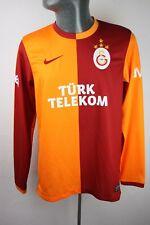 GALATASARAY 2013 2014 Home Long Sleeve Football shirt trikot Homme S F780 Petit