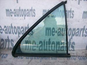 96-02 MERCEDES-BENZ W210 OEM RIGHT PASSENGER REAR DOOR VENT QUARTER GLASS WINDOW