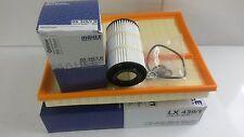 MERCEDES ML350 ML500 huile filtre à air véritable MAHLE service kit 2001-2005