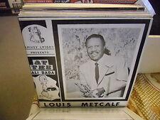 Louis Metcalf At the Ali Baba vinyl LP Spivey Records EX 1966 MONO