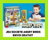 JEU PLATEAU GAME JOUET SOCIETE ANGRY BIRDS NEUF RARE ENFANT JEUX OISEAUX GRATUIT