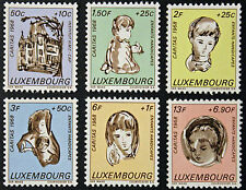 LUXEMBOURG timbres/Stamps Yvert et Tellier n°729 et 734 n** (e) (cyn10)