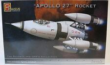Pegasus 1/72 Apollo 27 Rocket Plastic Model Kit 9101