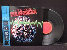 Steve Smith - Vital Information on CBS/Sony Records 25AP 2687 Japanese w. OBI