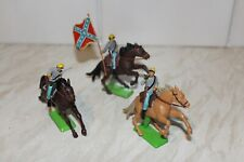 Britains Deetail ACW Confederate Cavalry.  (1/2 SET).